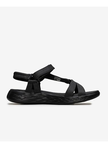 Skechers Skechers 15316 Bbk On-The-Go 600 - Br Sandalet  Siyah